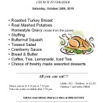 Turkey Supper 10-24-15