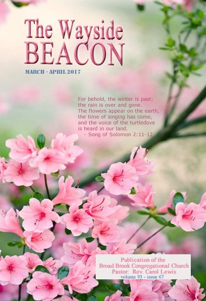 March – April 2017 Wayside Beacon