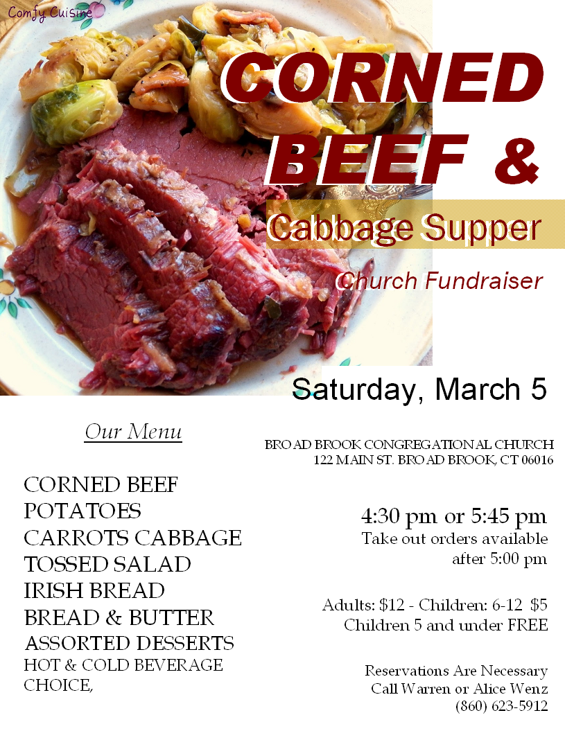Almost Time for Our Corned Beef Supper