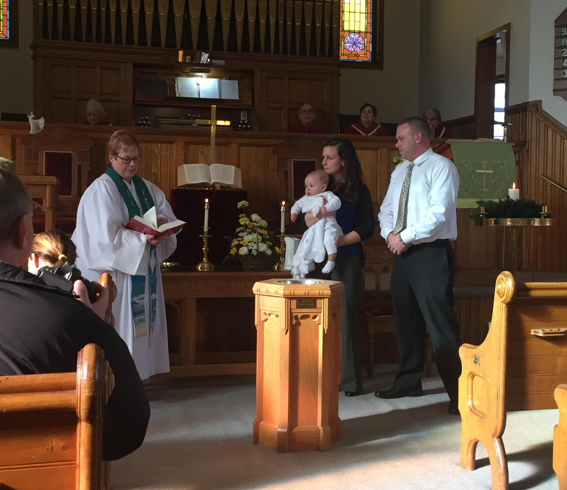 Baptizing Benjamin