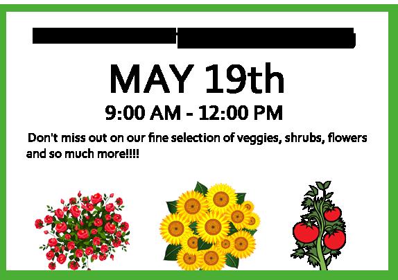 2018 Annual Plant Sale